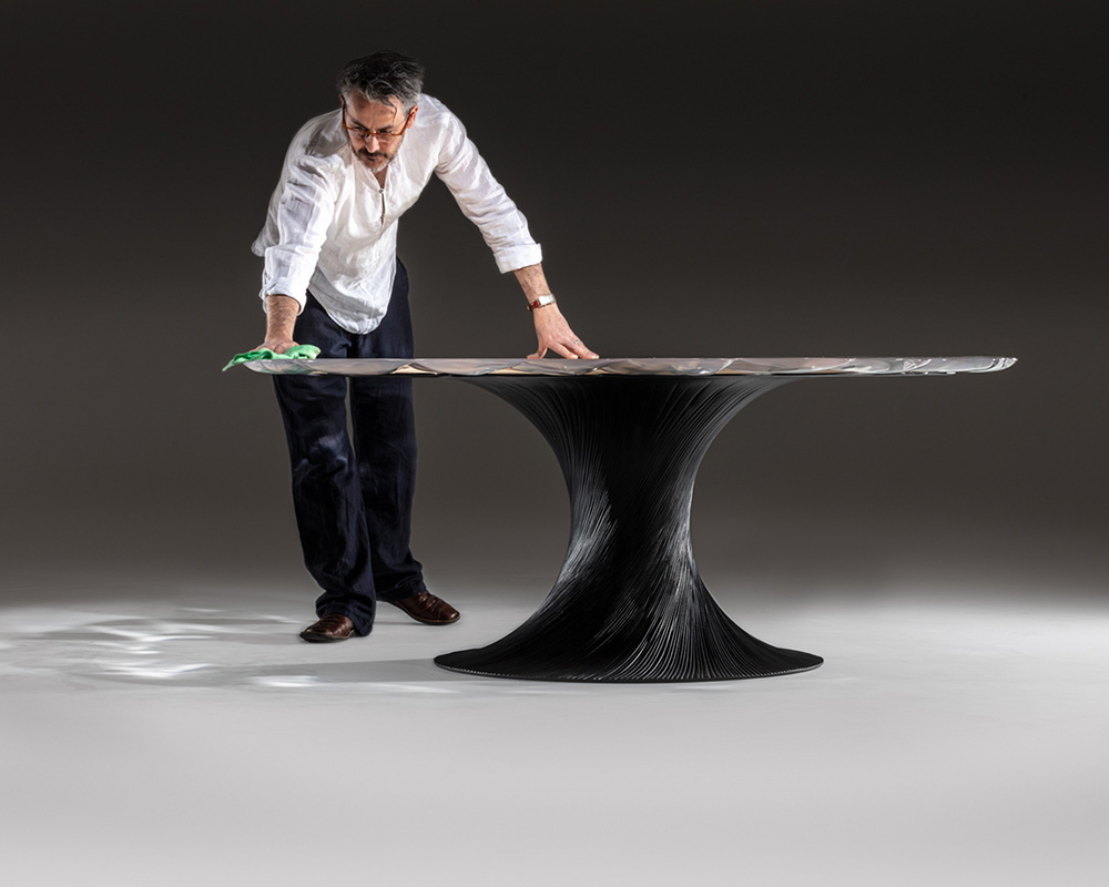 Marc Fish Vortex Dining Table